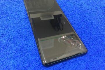 姫路市のお客様、XperiaXZ3の両面ガラスコーティング