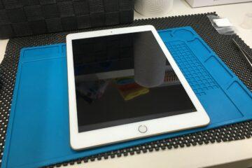 神戸市垂水区のお客様、iPadのガラスコーティング