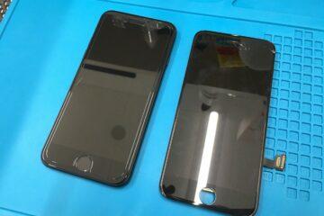 たつの市のお客様、iPhone7の画面割れ修理