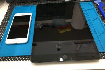 たつの市のお客様、iPad Pro・iPhone8のガラスコーティング
