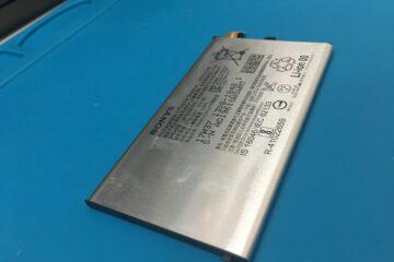 神崎郡福崎町のお客様、Xperia XZ1 compactのバッテリー交換