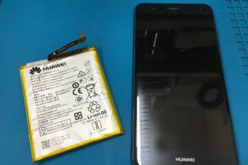 姫路市のお客様、Huawei P10 liteのバッテリー交換