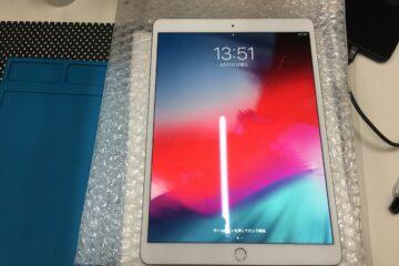 姫路市のお客様、iPad Air3の画面割れ修理