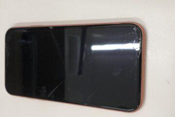 姫路市のお客様、iPhoneXRの画面修理